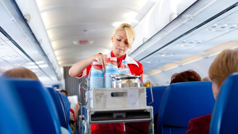 Don't Drink Water on an Airplane Unless It Came from a Bottle