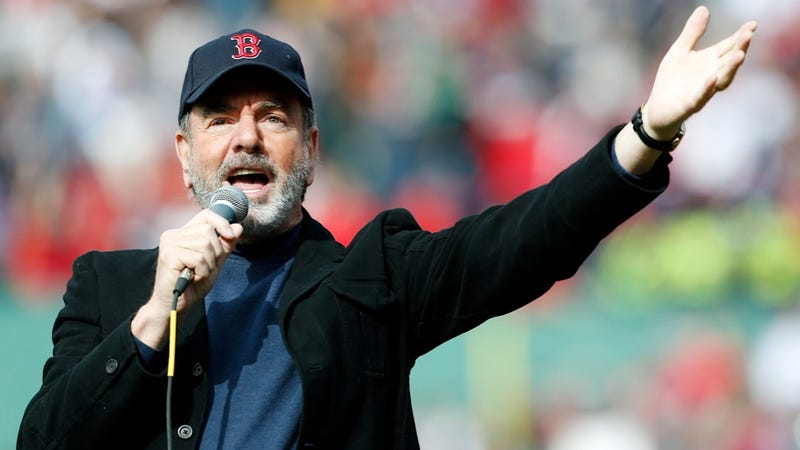 The Delightful Tale of How Neil Diamond Surprised Fans at Fenway Park