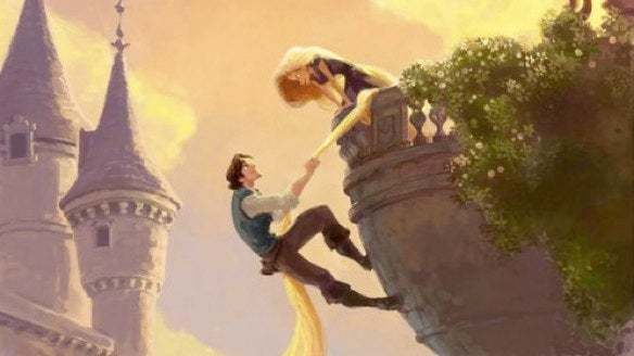 15 seconds with Disney's new wild-child princess, Rapunzel UPDATE