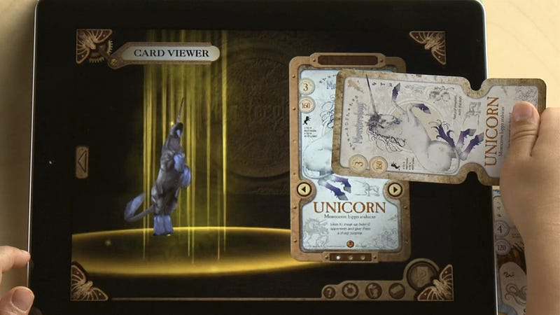 How Does the iPad's Touchscreen Recognize These Trading Cards?