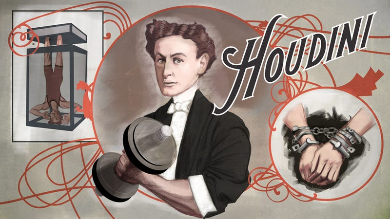 Your Wimpy Workout Has Nothing on Houdini's Bizarre Training Regimen