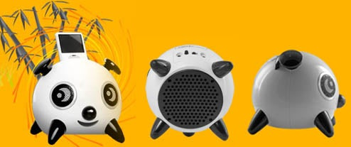 iPanda iPod Dock Panders To Bear Loving Music Enthusiasts