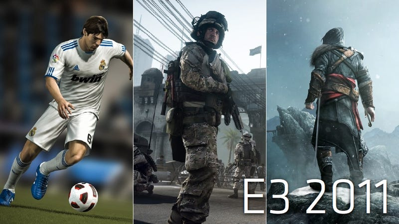 These are the Big Games of E3 2011