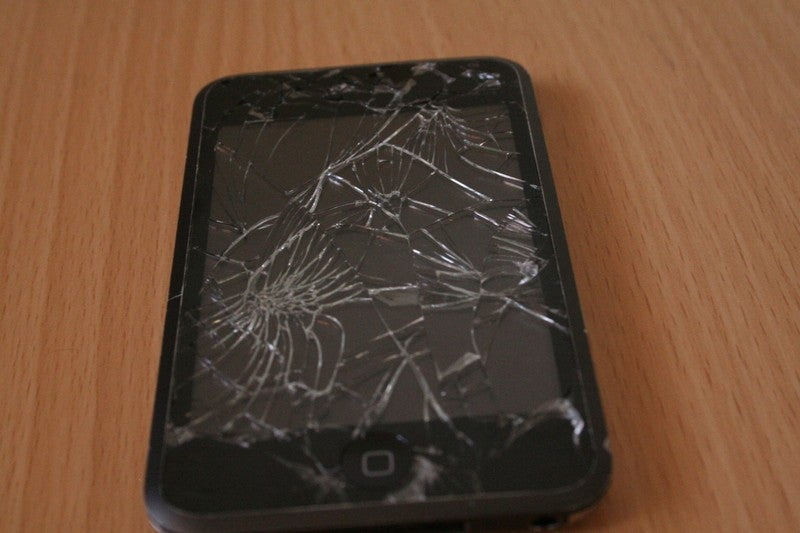 iPod Touch Survives Brutal Pickup Truck Crushing