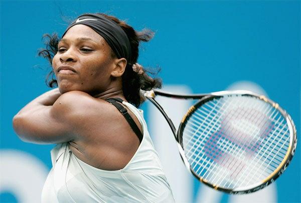 Serena Williams Heats Up Down Under