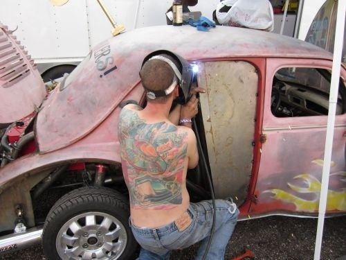 VW-Powered Renault, Datsun-Powered Pontiac: BS Inspections At The BFE GP LeMons