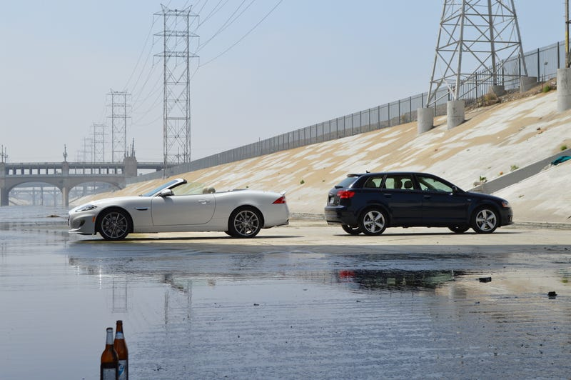 Audi and JAAAAAAG Photoshoot