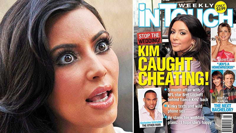 Kim Kardashian Blasts Cheating Rumor, Footballer Threatens to Release 'Personal' Pics
