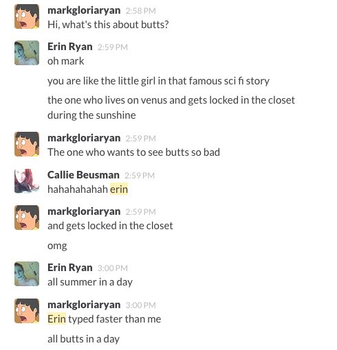 In Which Mark Misses Out on Buttstorm 2014