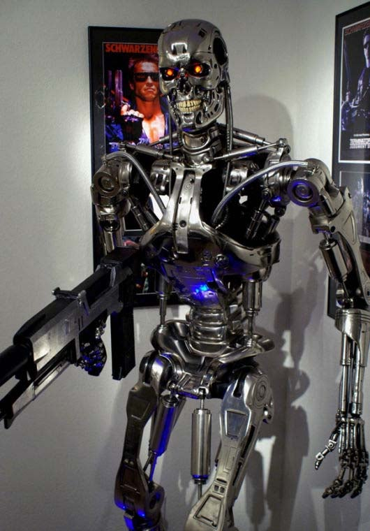 Rare Terminator Endoskeleton, Own It Now Until Judgment Day