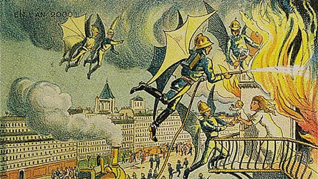 Flying Fire Fighters (And Other Inventions That Didn't Come To Pass)