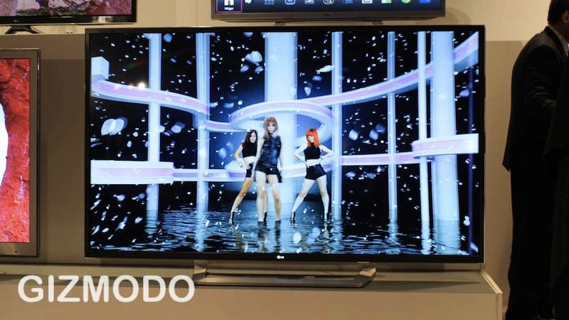 LG's New TV Fleet Trying Hard to Make 3D Not Suck (Eyes On)