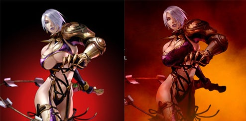 Namco Bandai In SHOCK Soul Calibur Breast Cover-Up