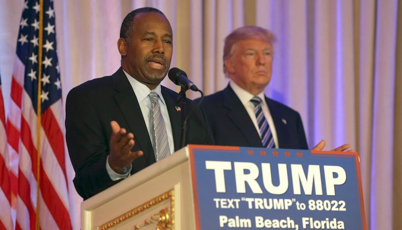 Only Thing Keeping Ben Carson's Mom From Shooting You Is Her Alzheimer's