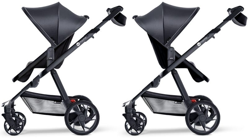 This Stroller Charges Your Phone Using Generators in Its Wheels