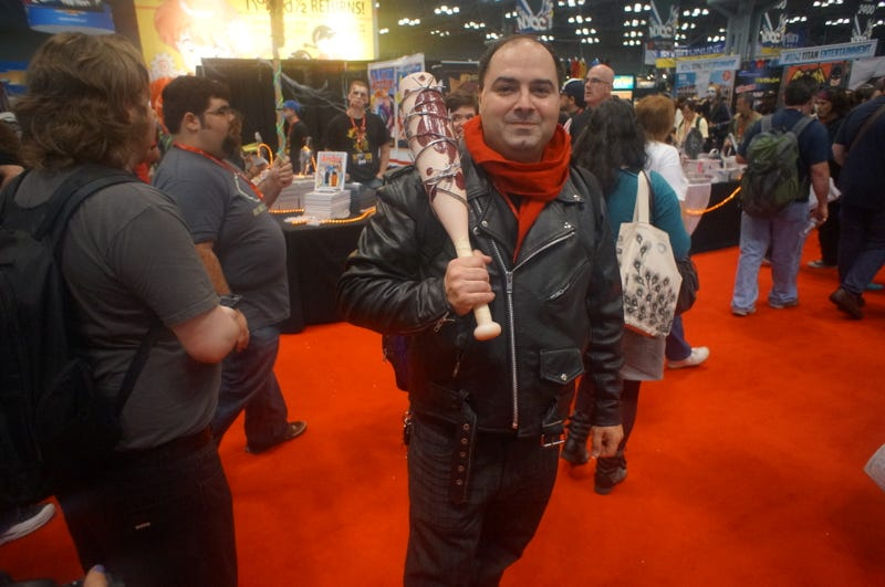 NYCC Cosplay: A Female Dr. Doom, A Male White Queen and Kick-Ass Korra
