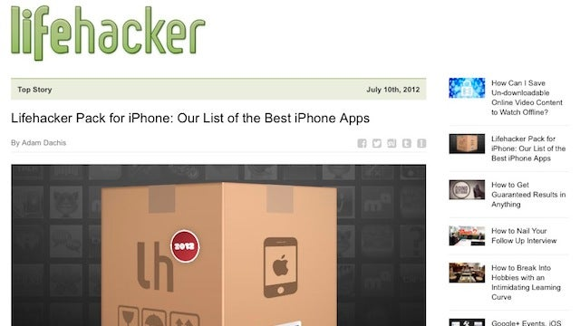Subscribe to the Lifehacker Newsletter for Our Top Stories of the Day in Your Inbox at Night
