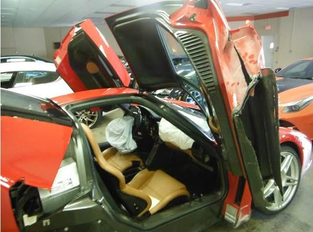 That Ferrari Enzo Destroyed In CT Can Now Be Yours For Not Cheap