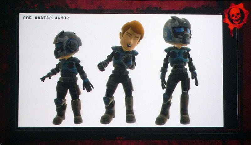 Gears Of War Armor Coming To Your Avatar