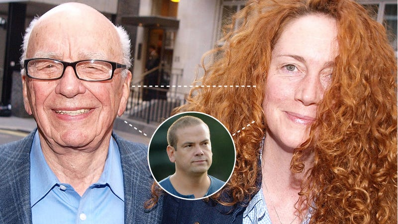 Did Rebekah Brooks Fuck Rupert Murdoch and His Son Lachlan?