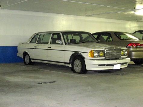 2 Legit 2 Quit: Mercedes 300D Limo