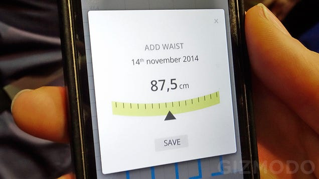 A Self-Adjusting Smart Belt: Yes, It's Come to This