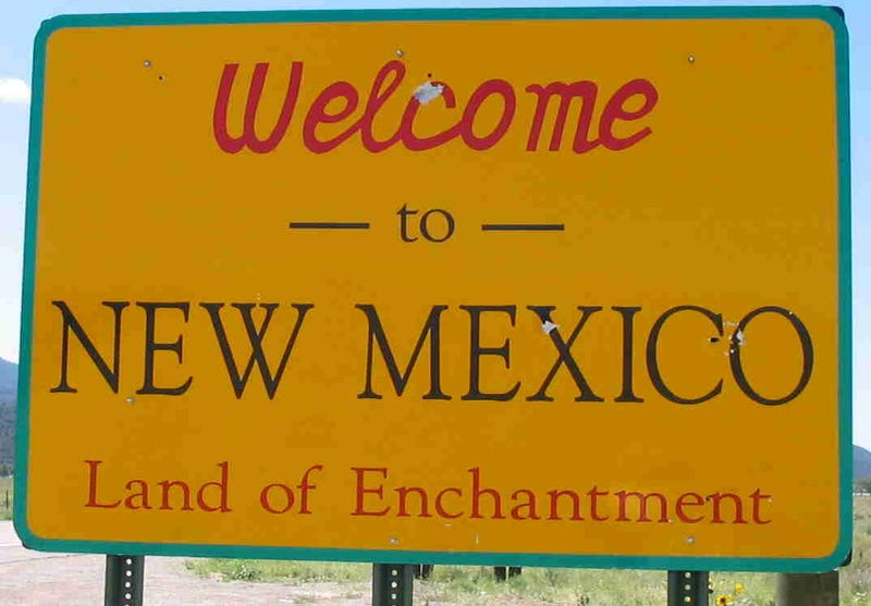 New Mexico for the marriage equality win