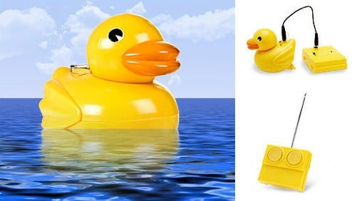 Rubber Duck With Remote Control: Bathtime Gets More Fun
