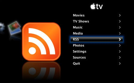 Apple TV Hack Brings RSS Feeds to Your Living Room