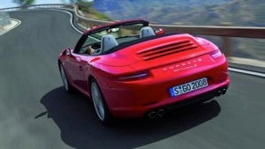 2012 Porsche 911 Cabriolet, Toyota drops an FT-86 ad, and M550d has torque, glorious torque