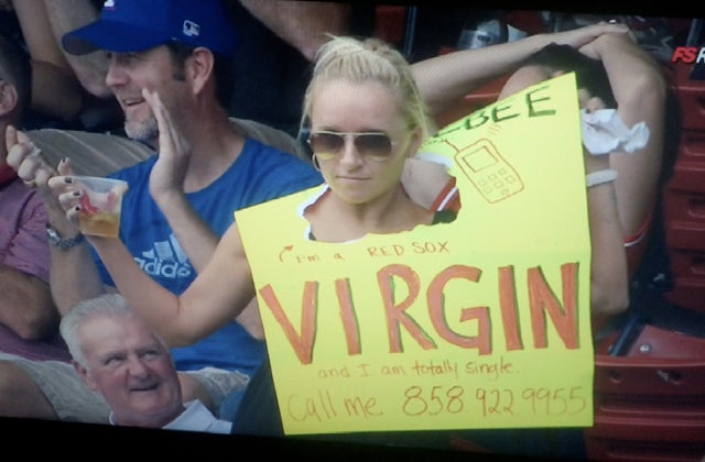 "I-Team: Who's The ""Totally Single Virgin"" Who Advertised Her Phone Number At Fenway Park Today?"