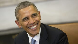 President Obama Bigged Up the Ladies in India, Indians Loved It