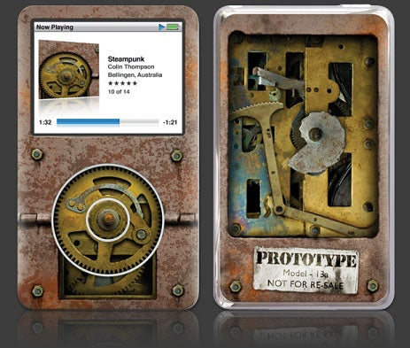 Steampunk-ify Your iPod With Gelaskins