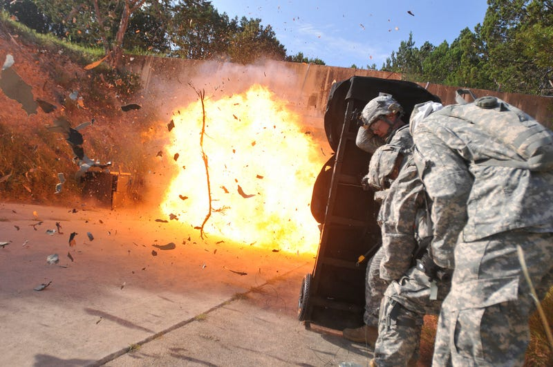 Training for Underground Warfare at a Nuclear Weapons Complex in Texas
