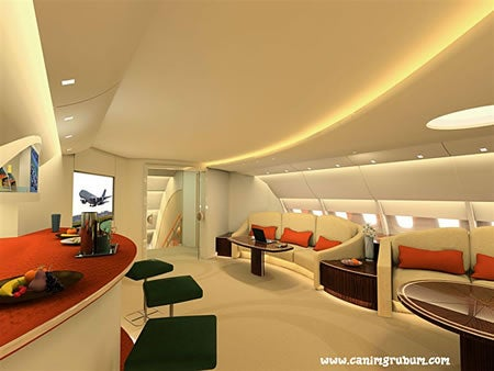 Luxury A380 Interior is Just What We Need to Start a Populist Revolt