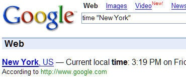 Google School: Get the local time for a location