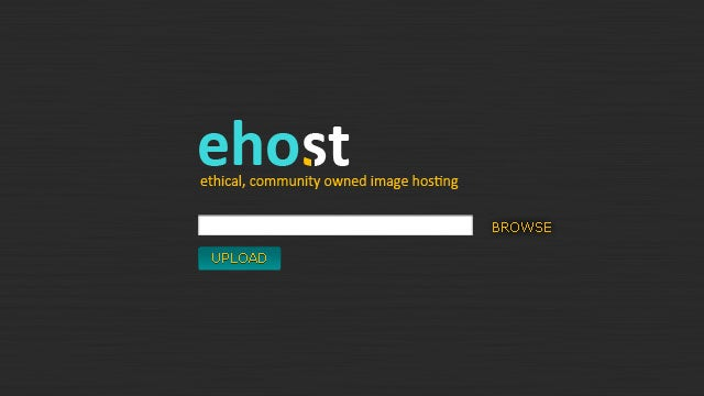 eHo.st Is an Image Hosting Service That Gives Image Authors Due Credit