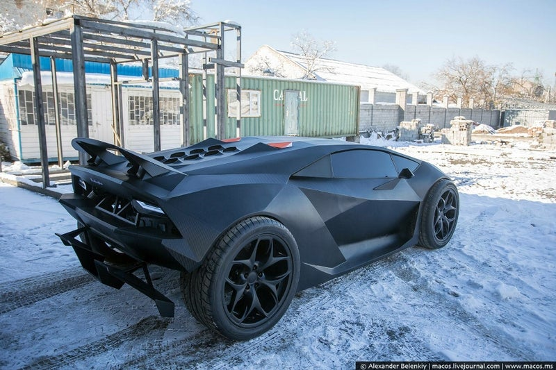 These guys made a $2 million Lamborghini with only $15,000 and a Volvo