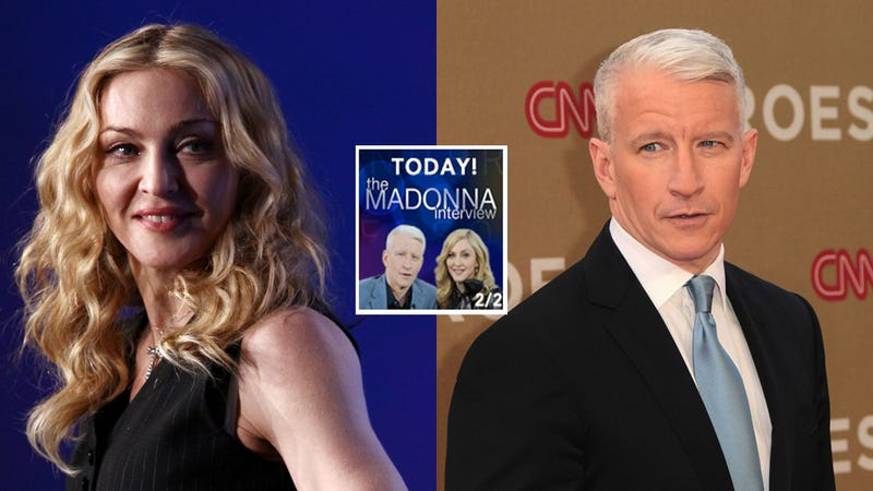 Anderson Cooper Is Queening Out That Madonna Is on His Show