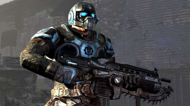 New Gritty Gears of War Screens Detail Rookie Carmine
