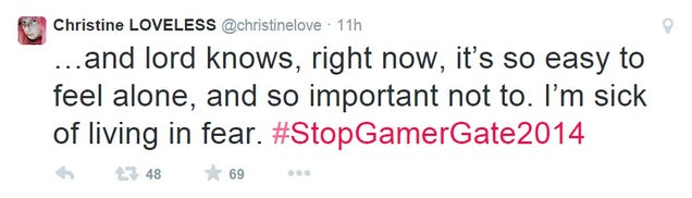 Thousands Rally Online Against Gamergate