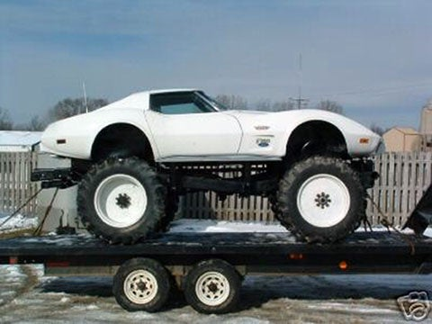 You Know You Want This: FordVette Monster Truck