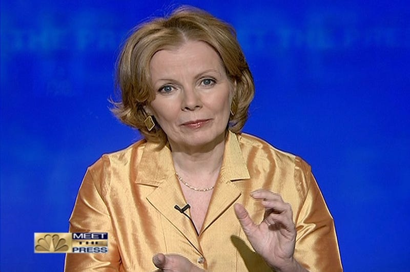 Peggy Noonan Cannot Tolerate The Rigors of Air Travel