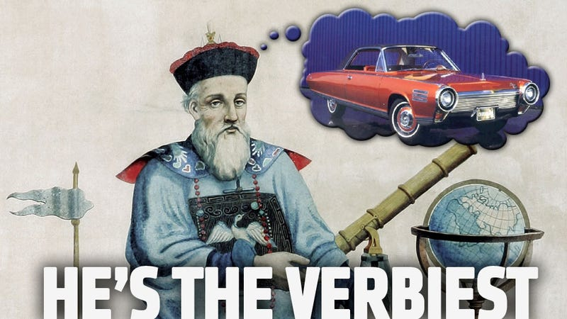 The First Automobile Of Any Type Was Built By This Flemish Priest In China