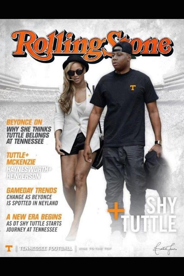 If You Play Football At Tennessee, You'll Hang Out With Beyoncé, Maybe