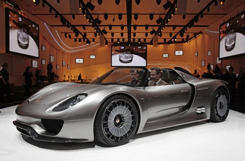 Porsche 918 Spyder: Best Sounding. Hybrid. EVER.
