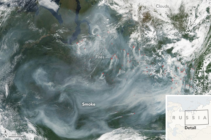 Siberia Has Been Burning All Summer