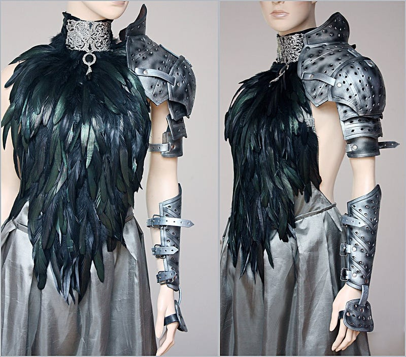 Medieval armor goes high fashion -- and looks fantastic