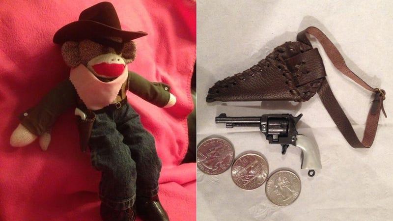 TSA Seizes Tiny Toy Gun From Stuffed Monkey, Threatens to Call Cops