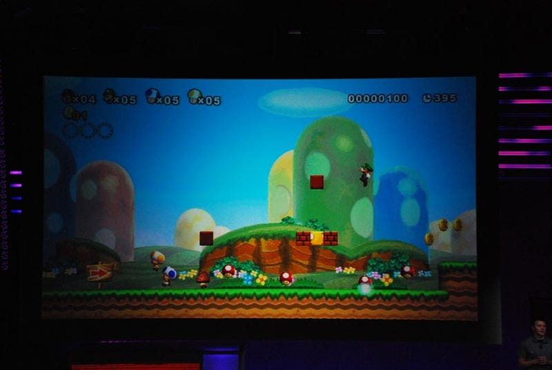 Nintendo Reveals The New Super Mario Bros. Wii